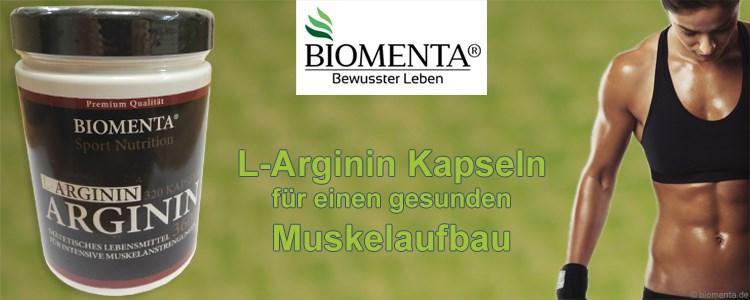 l arginin kapseln im test ein gesunder muskelaufbau mit aminosà uren