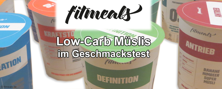 fitmeals - Low Carb Müslis Shop Erfahrungen